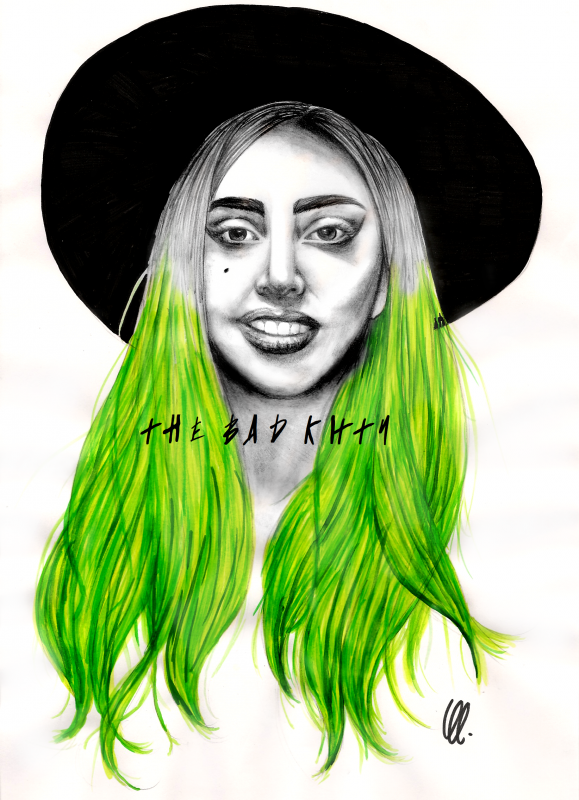 n°59 Lady Gaga (Green Ga')