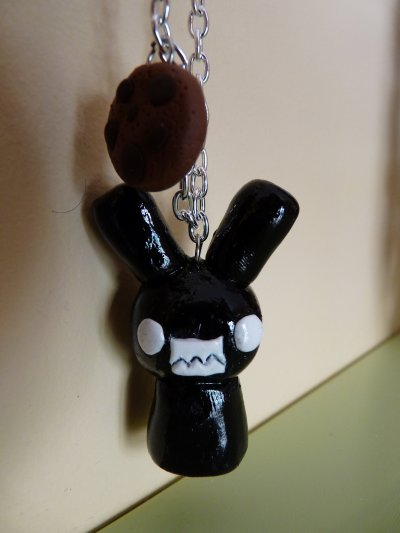Collier Lapin et Cookie