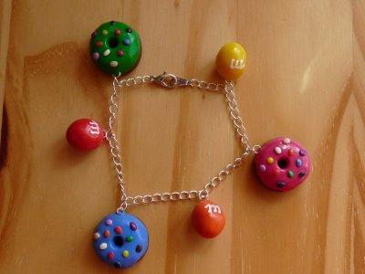 Bracelet Donut's et M&M's