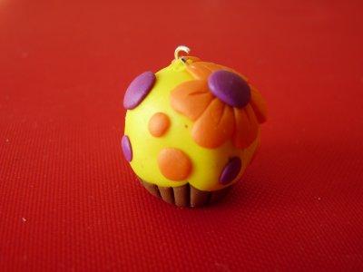 Cupcake Rond Orangé