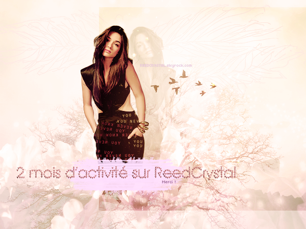 Your (number) one and only source about Crystal Reed.