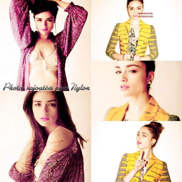 Photoshoot - Nylon - Your one and only source about Crystal Reed.