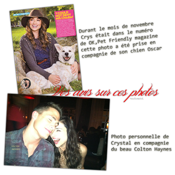 Magasine + Photo perso - Décembre2011 - Your one and only source about Crystal Reed.