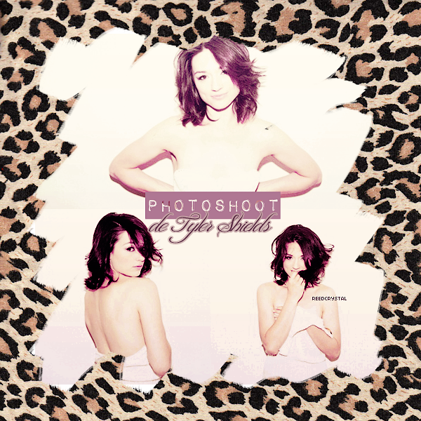 Photoshoot - Your one and only source about Crystal Reed.