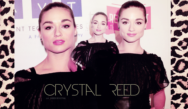 26.06.21012 - Your one and only source about Crystal Reed.