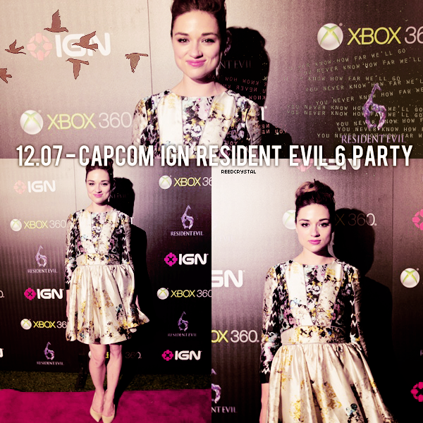 12.07.2012 - Your one and only source about Crystal Reed.