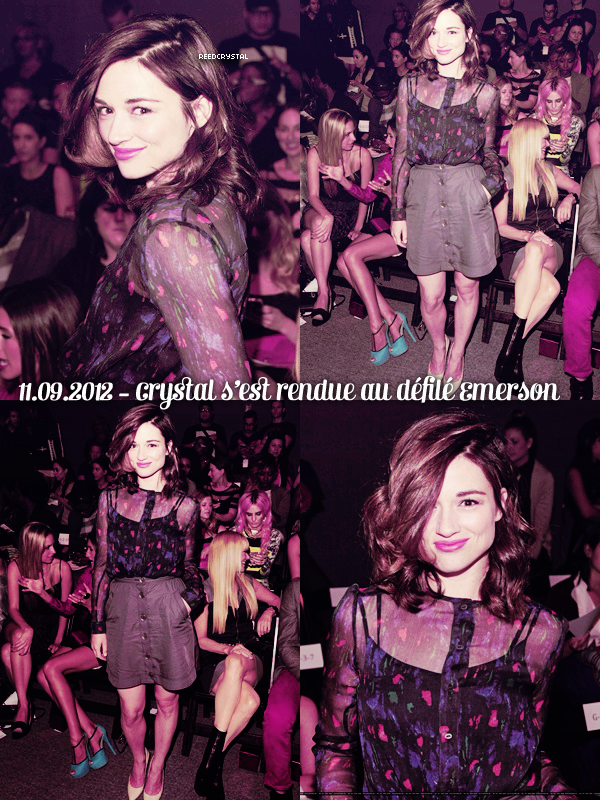 ReedCrystal - Your one and only source about Crystal Reed