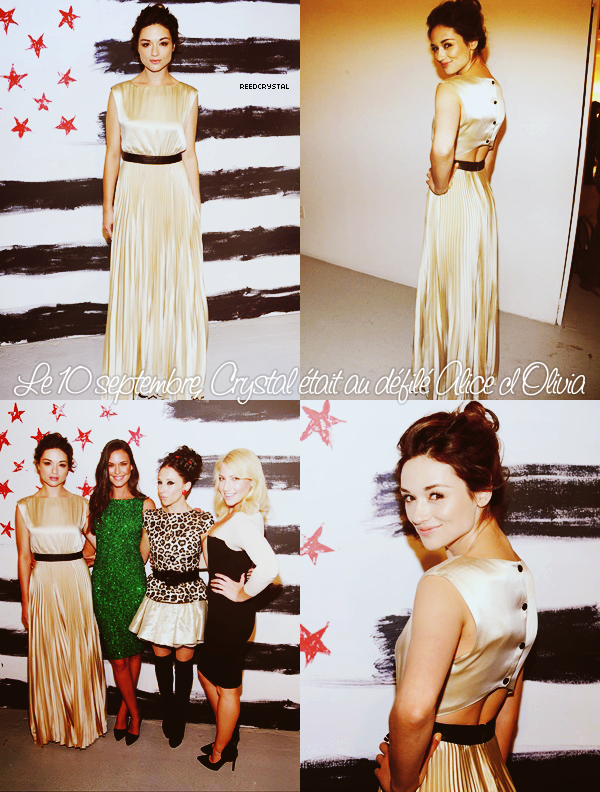 ReedCrystal - Your one and only source about Crystal Reed.