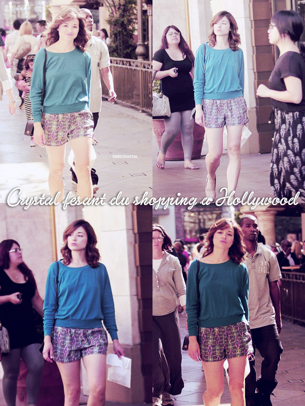 03.10.2012 - Your one and only source about Crystal Reed.