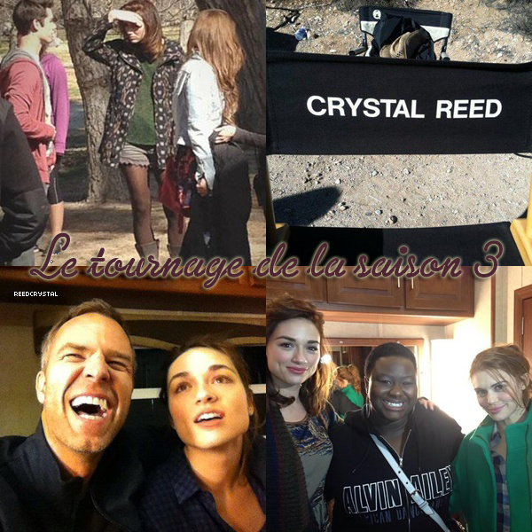 16/02/13 - Your (number) one and only source about Crystal Reed
