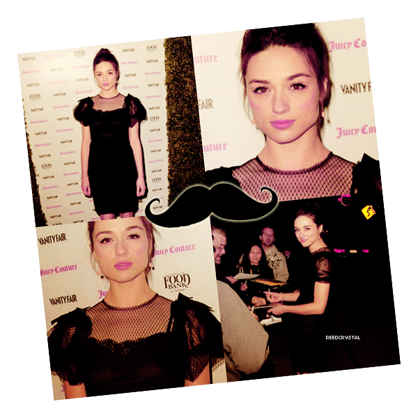 18/02/13 - Your one and only source about Crystal Reed