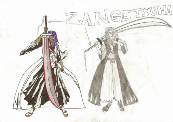 Moi en Shikai(Zangetsuha)