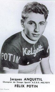 JACQUES ANQUETIL (1956)