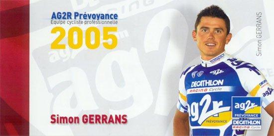 SIMON GERRANS (2005)