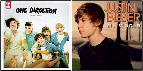 justin bierber vs les one direction