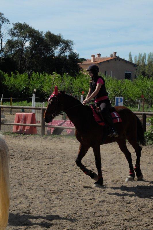 1er Compétition avec Oberon d'Elne