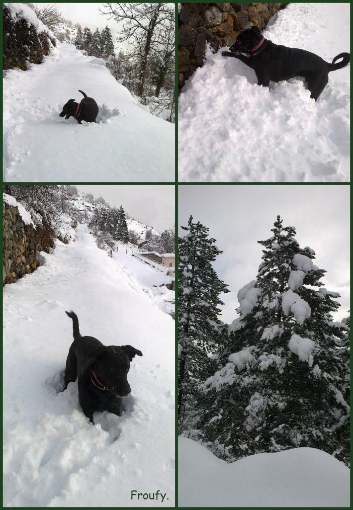 La Ninette et la neige...