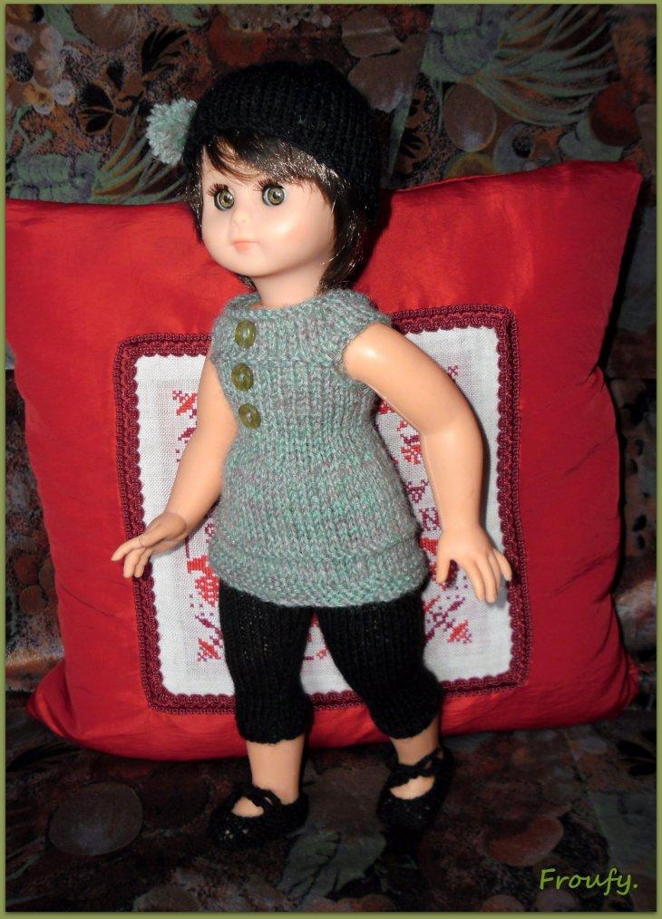 La tenue tricotée de Sylvie !