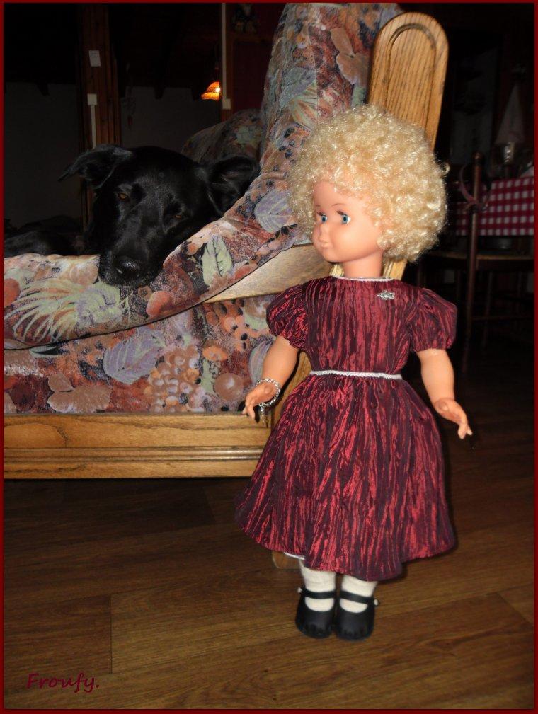 La nouvelle robe de Gaby !