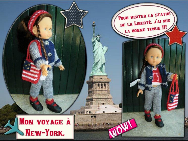 Les aventures de Térésa partie 3 : Voyage à New York.