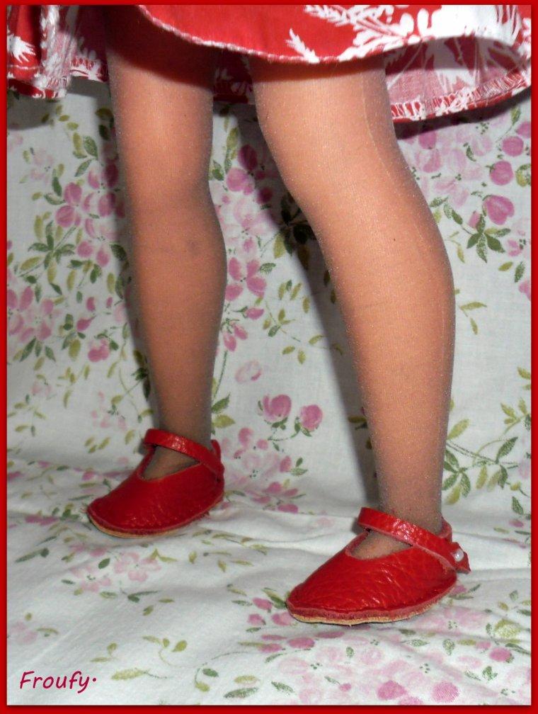 Les chaussures d'Elisa.