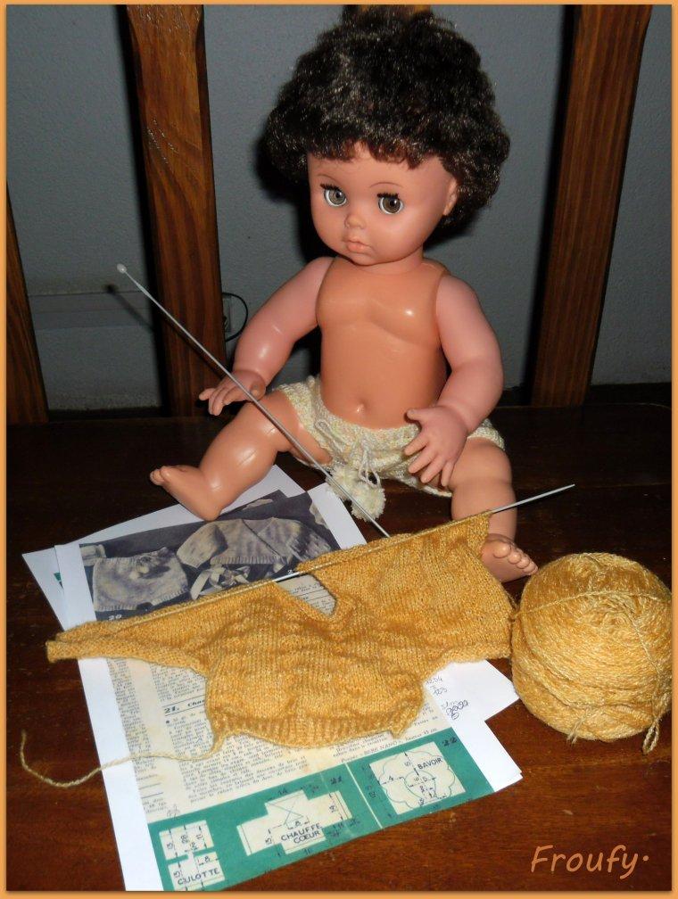Je tricote pour Marc !