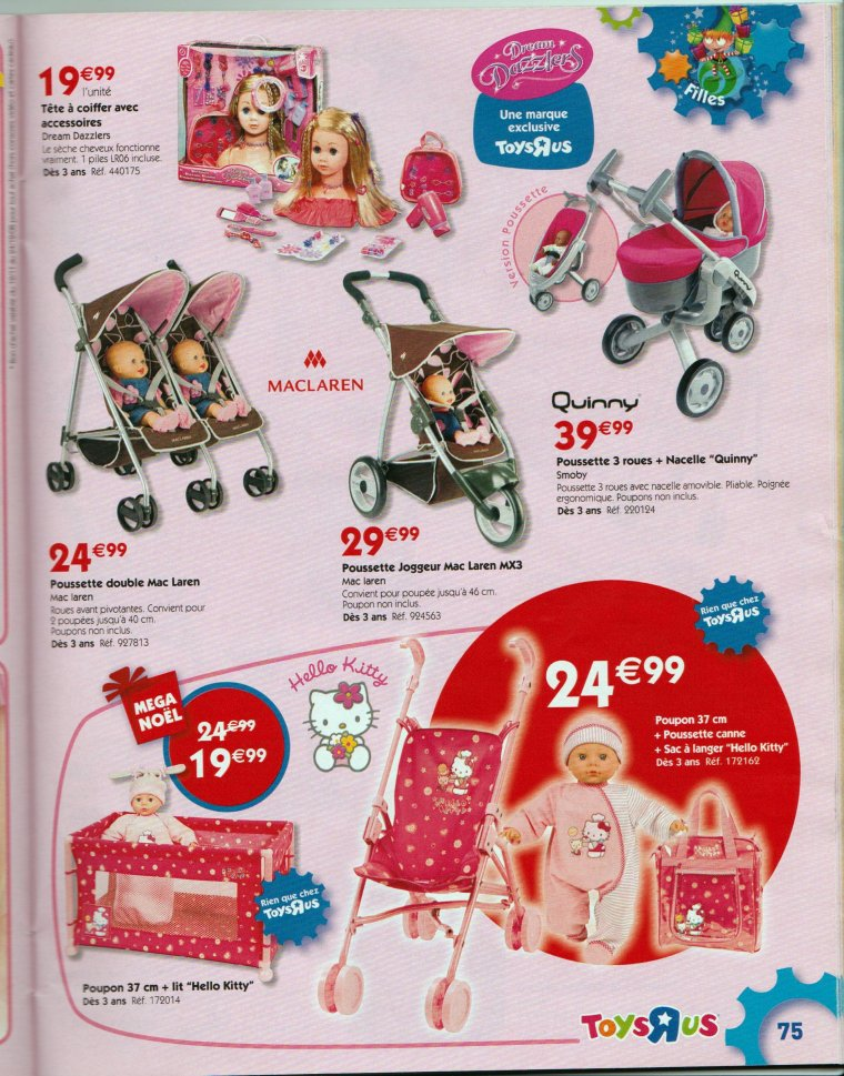 Catalogue ToysRus Noël 2008 partie 1