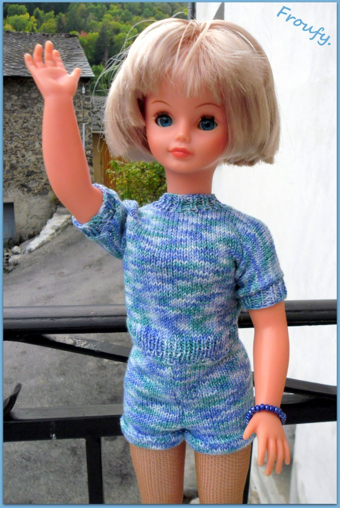 Cathie-Claudine aime les shorts !!!
