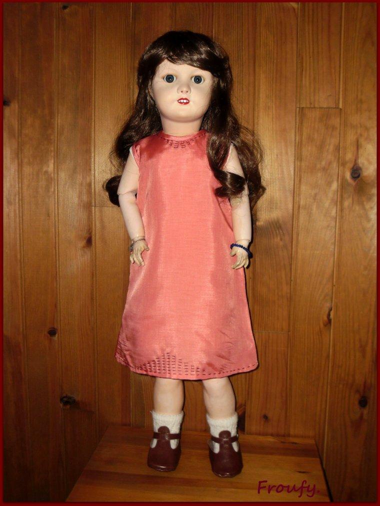 La robe de Victoire.