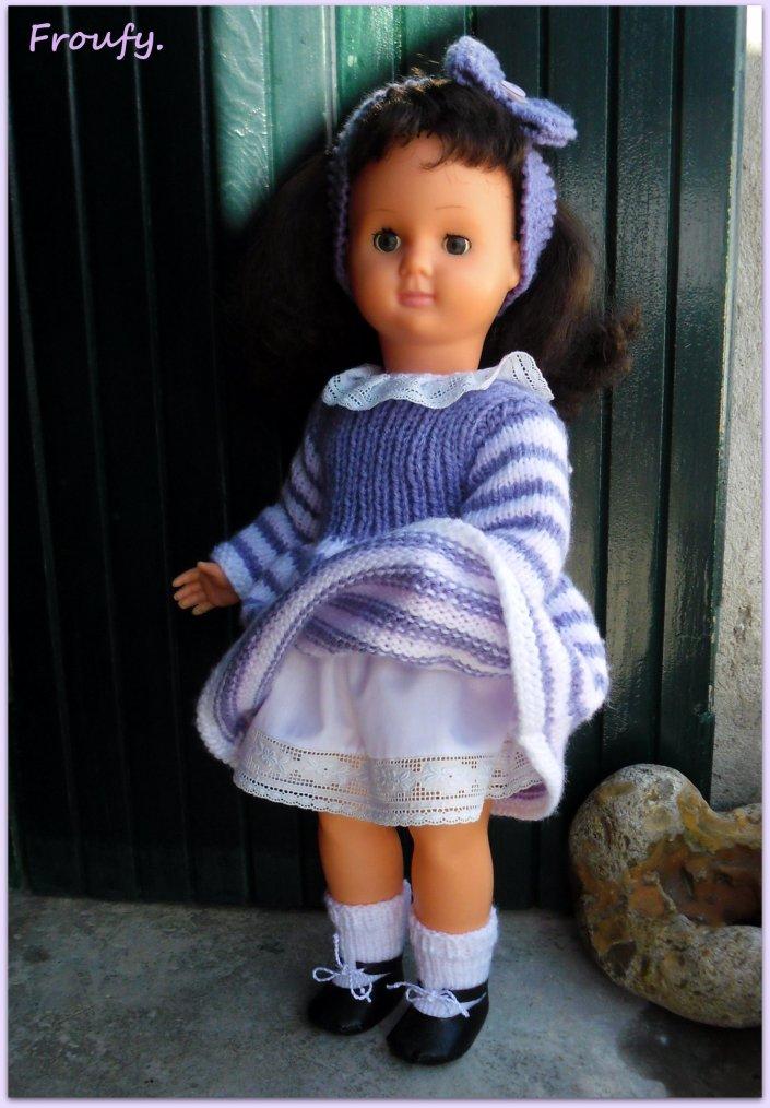 Suzanna est enfin habillée !