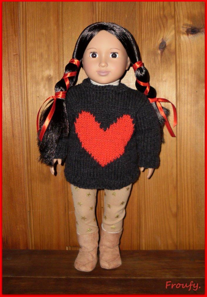 Tamaya et son coeur !!!