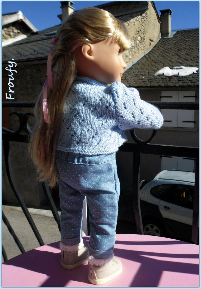 Loreleï et sa nouvelle veste !