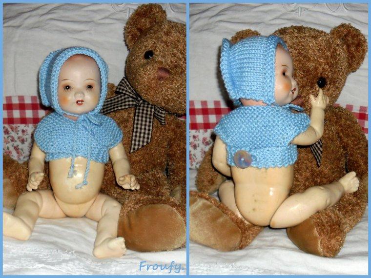 Une nouvelle tenue pour bébé Mathurin !