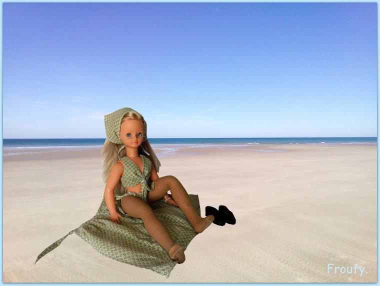 Nous voici revenus de la plage ....