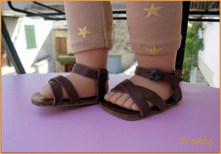 Les sandalettes de Tamaya !