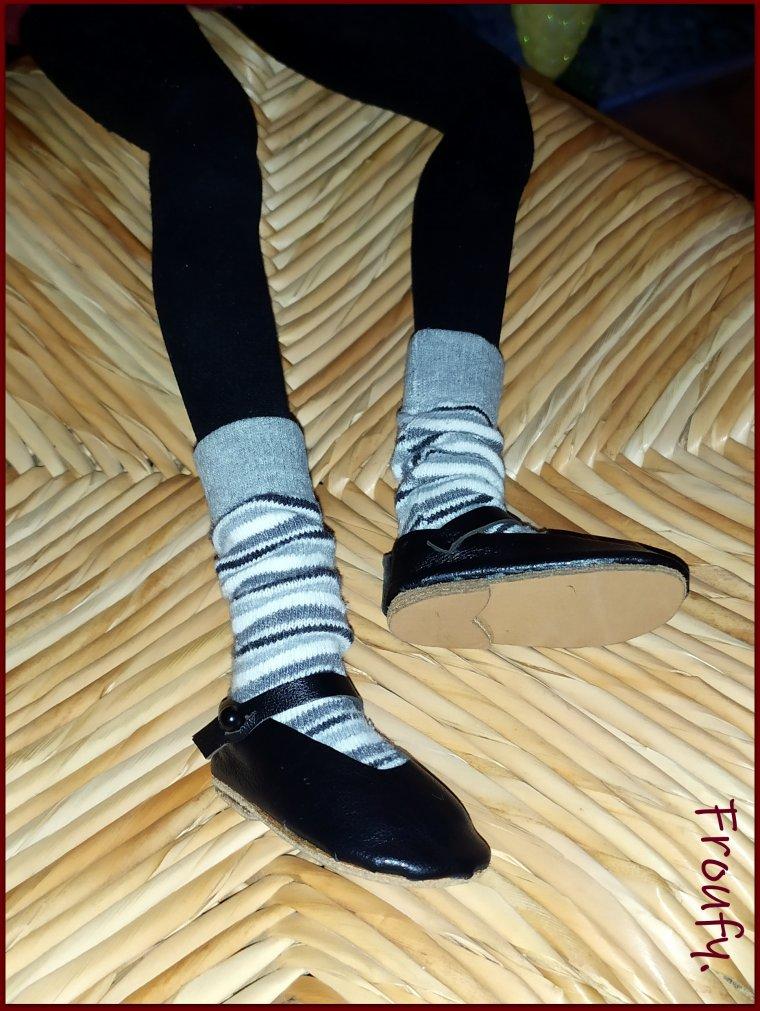 Louise à enfin des chaussures !!!!