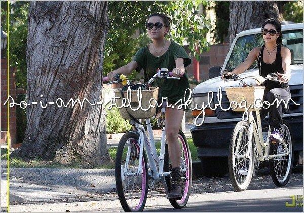 . 27 Septembre 2011: Remake de Vanessa et Stella font une ballade à bicyclette .