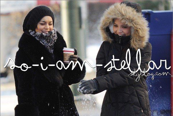 . 17 Novembre 2011: Gina, Vanessa & Stella en Alaska  .