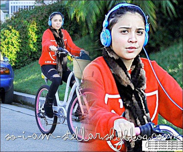 . 24 Novembre 2011: Stella's bike on the road  .