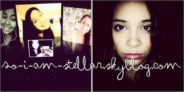 . Photos INSTAGRAM de Stella (& TELANA NICOLE & JORDYN WOODS)   .
