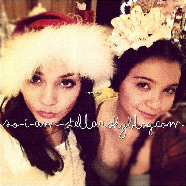 . Stella a passer Noël chez Vanessa... photos via INSTA... (again)  .