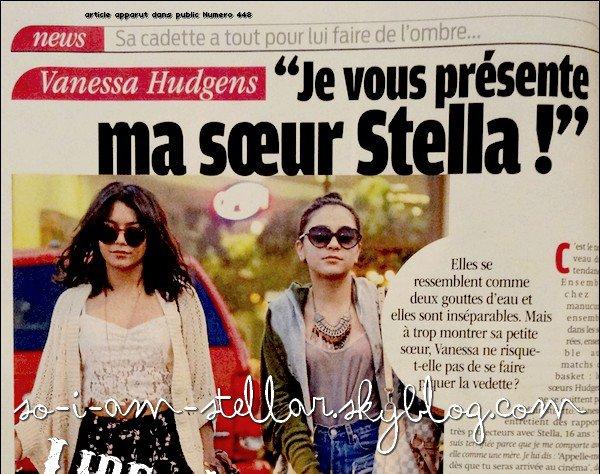 ". Stella dans ""Public""  ."