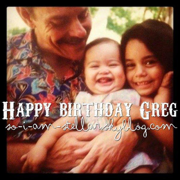 . 23.6.2012 : HB Greg hudgens (Papa de Vanessa & Stella H.) .