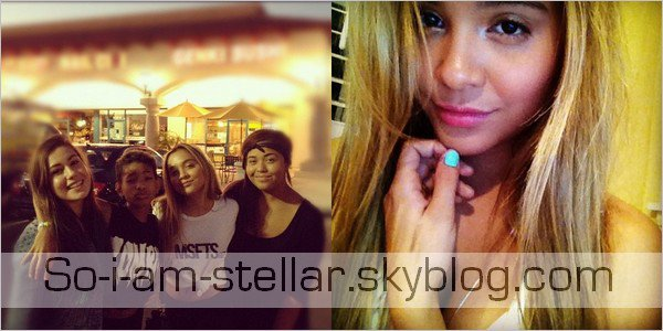 . 13 Aout 2012 : Sortie entre amis avec Willow smith + la nouvelle photo twitter de stella .