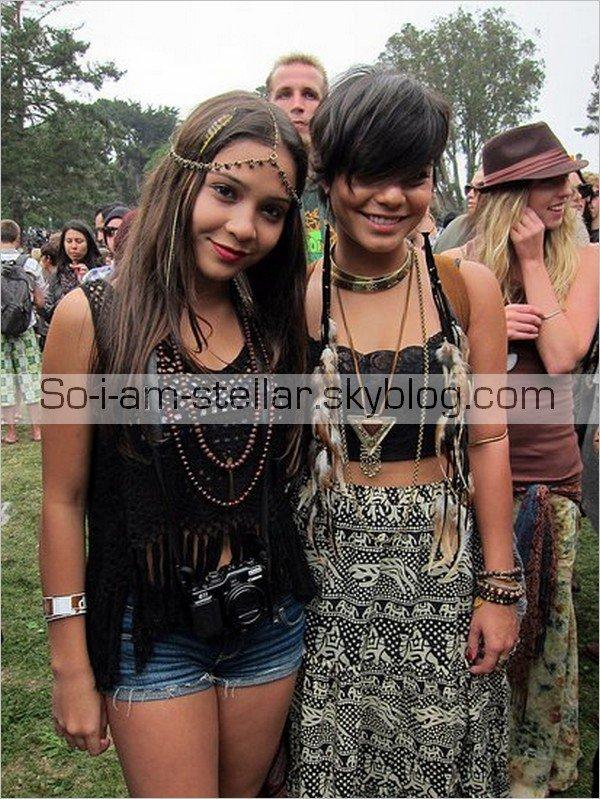 . Stella et Vanessa au Festival de San Francisco en août 2011 .