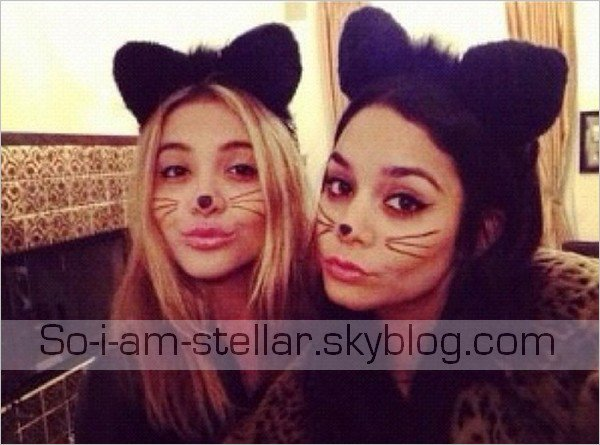 . 26.10.12 : Stella & Vanessa ont préparé Halloween ensemble .