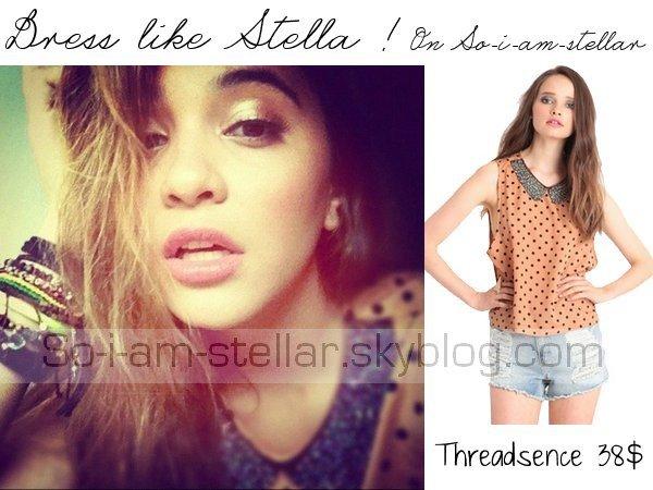 . Dress like Stella ! (M.) .