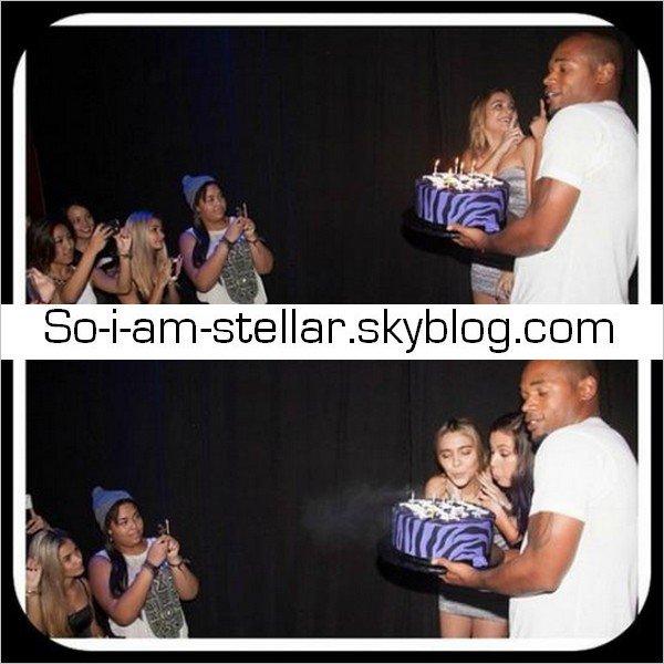 . 17.11.12 : Suite des photos de l'anniversaire de Stella dans un club ;) .