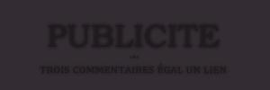 ▬ Publicité ▬