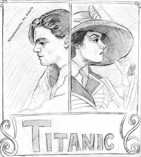 titanic le plus beau film de tous les temps - Dessin Titanic